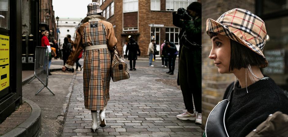 Лондонская Неделя мужской  моды: модники со всего света в Burberry перед показами коллекций