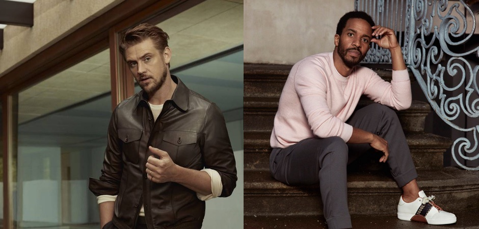 Актеры Бойд Холбрук и Андре Холланд представляют разные мужские характеры и разный подход к созданию образа в новой кампании от Ermenegildo Zegna