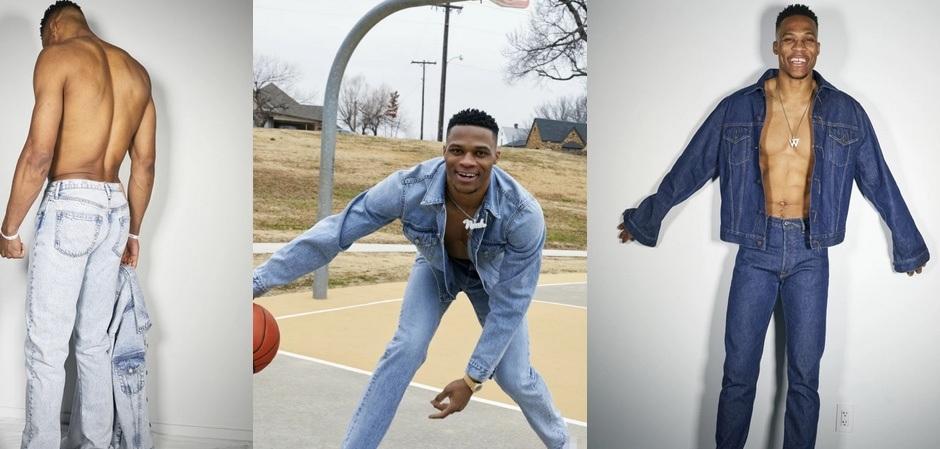 Баскетболист Рассел Уэстбрук в рекламе ACNE Studios