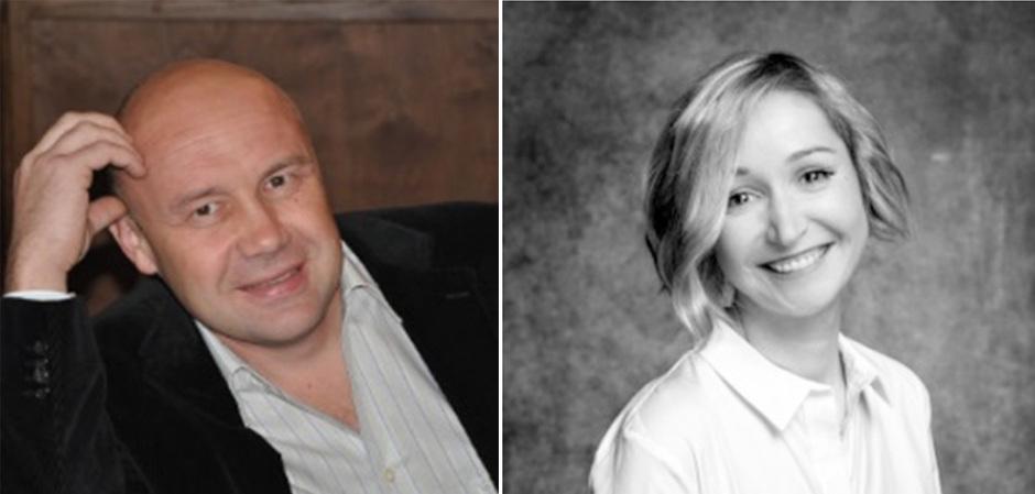 Сергей Промохов, основатель интернет-портаа Procapitalist, и Станислава Нажмитдинова, основатель агентства по масштабированию fashion-бизнеса  «Штаб», преподаватель Британской Высшей Школы Дизайна