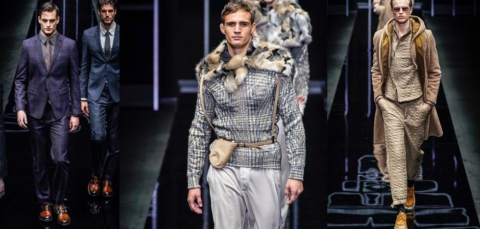 Коллекция Emporio Armani на Неделе мужской моды в Милане