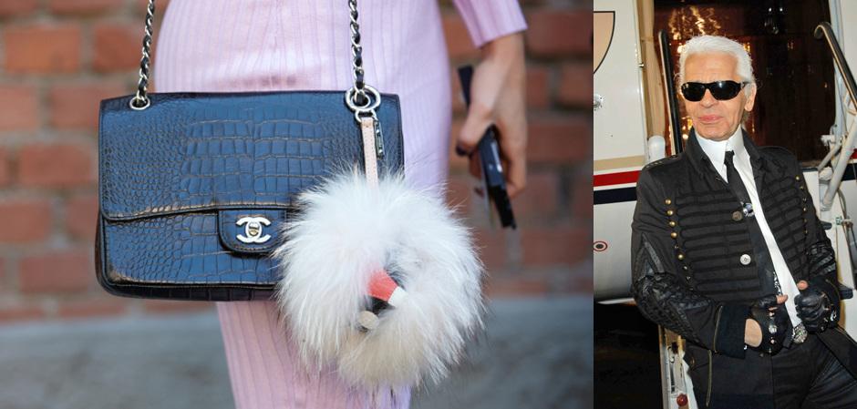 Chanel отказывается от экзотической кожи и меха. Карл Лагерфельд