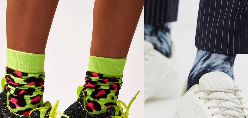 носки поражают своим разнообразием в этом сезоне