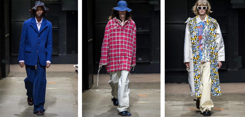 В  Милане на Неделе мужской моды представили новую коллекцию Дома Marni.