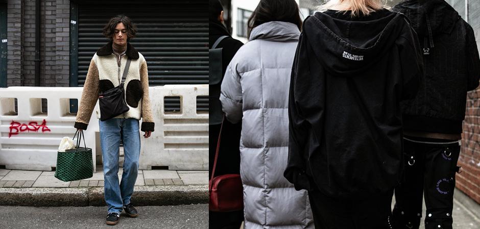 Лондонская Неделя мужской  моды: модники со всего света