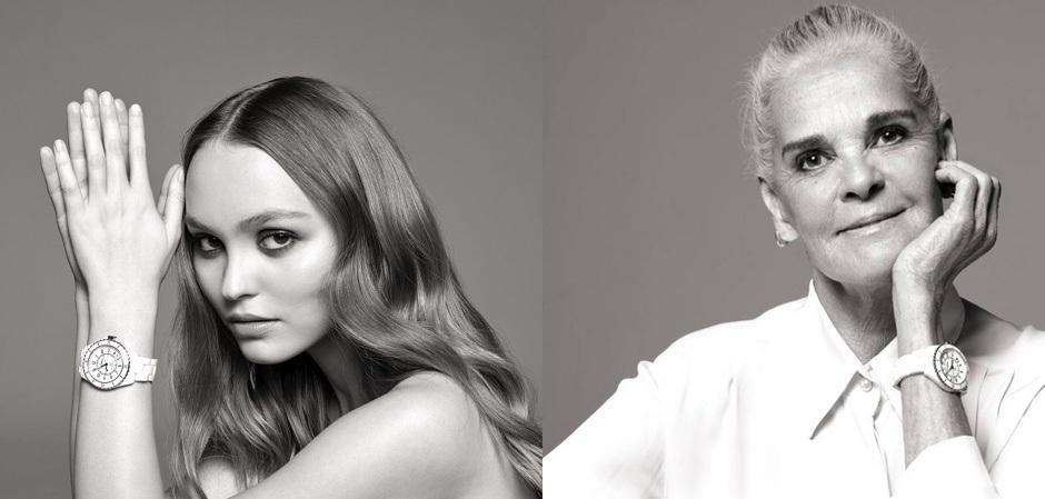 Лили-Роуз Депп и Али МакГроу в новой рекламной кампании Дома Chanel