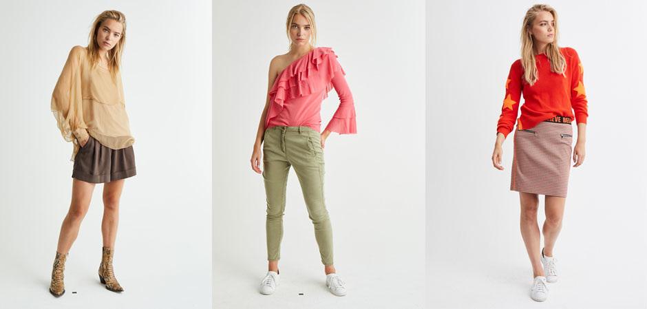 Модели одежды Marc Aurel