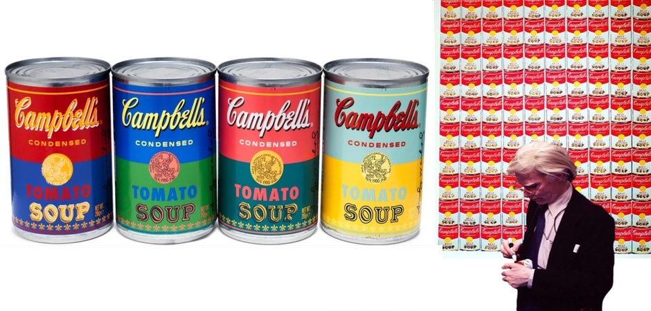 Энди Уорхолл и его знаменитые банки супа