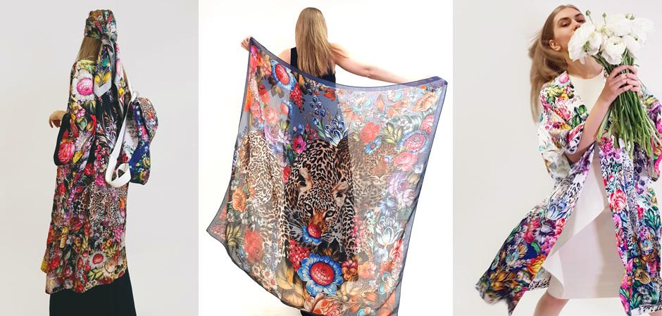 Жостово и бренд Radical Chic запустили текстильный арт-проект