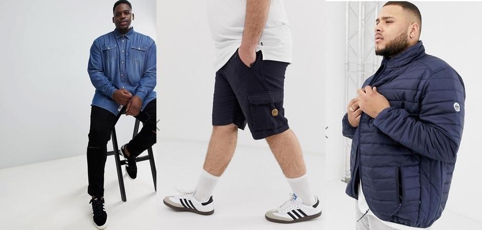 Бренд из Великобритании Duke выпускает линии мужской одежды размерами до 6 XL