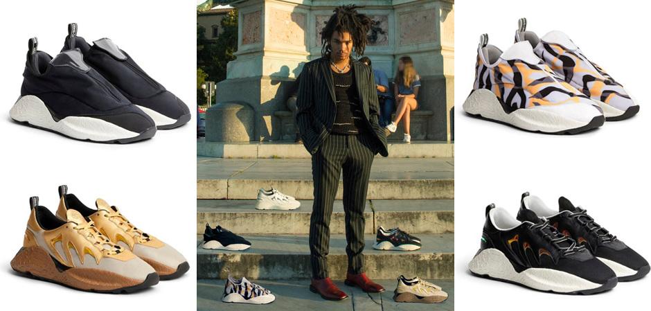 Уродливые кроссовки от Roberto Cavalli