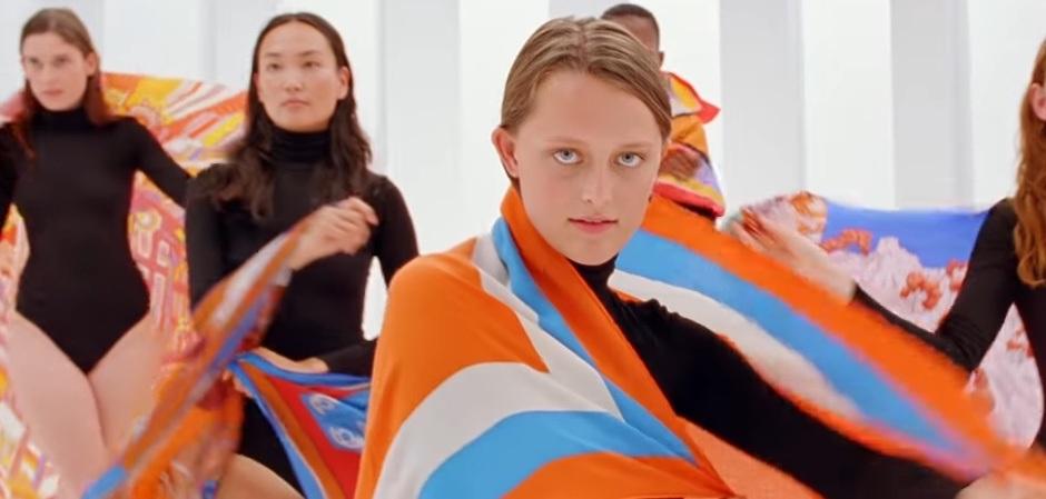 Новая коллекция шелковых платков от Hermes