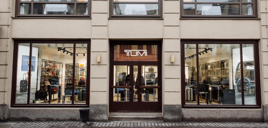 Новый магазин TUMI в Санкт-Петербурге