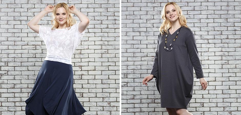 ЮВ&КА женская одежда больших размеров оптом