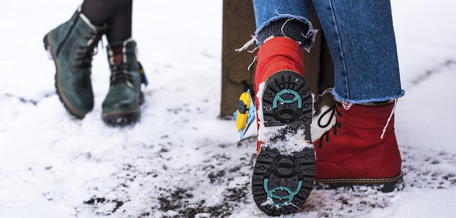 Solotu – обувь с подошвой «антигололед» на платформе «Модный magazin»