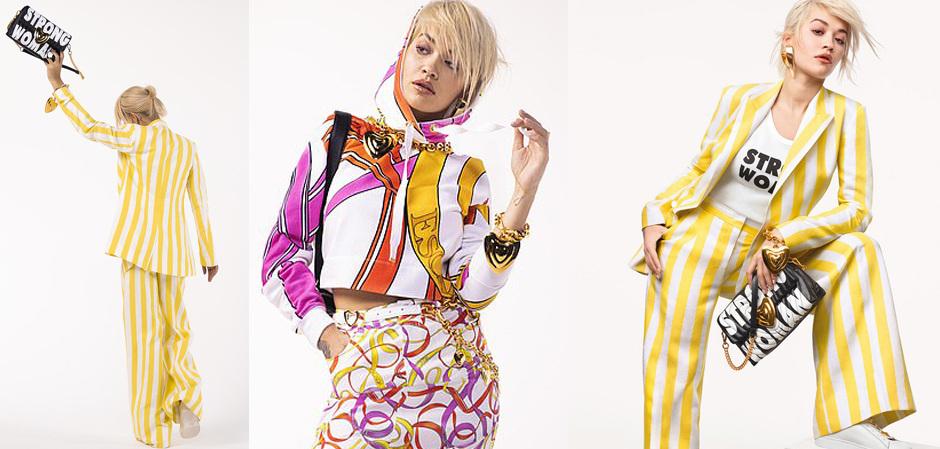 Рита Ора стала послом моды Дома Escada