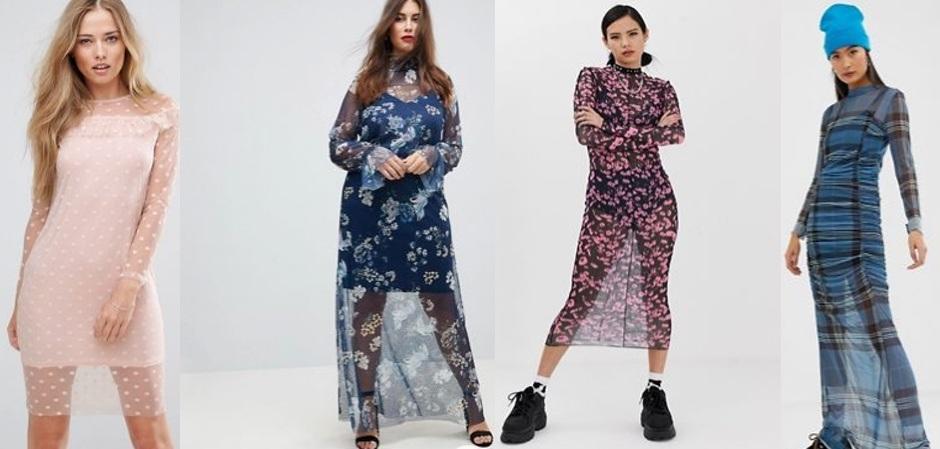 Новые модные платья зачастую слишком прозрачны, чтобы носить их без комбинации, но найти однотонную комбинацию из натуральных тканей сегодня очень сложно
