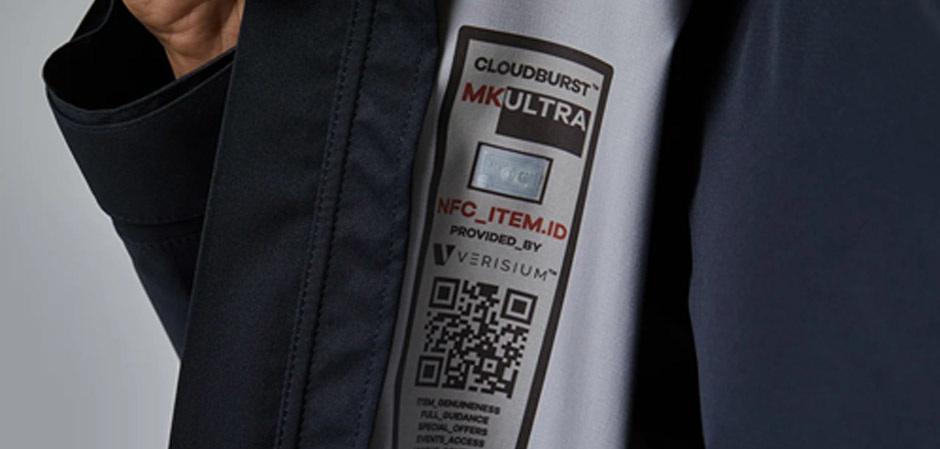 Cloudburst - коллекция одежды с NFC-чипами