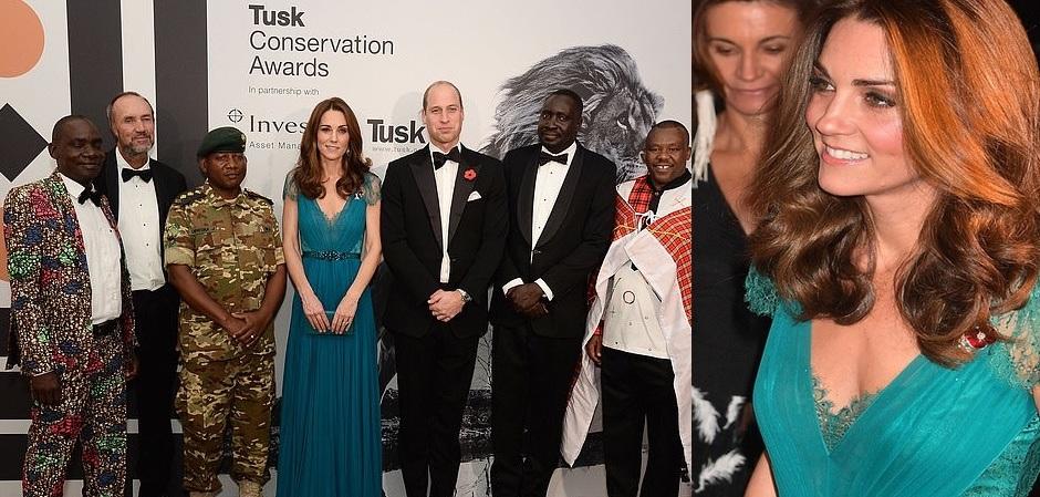 Кейт Мидлтон герцогиня Кембриджская с супругом принцем Уильямом