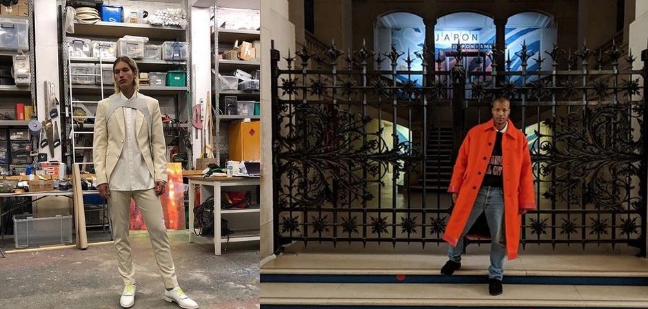 Херон Престон позирует перед началом показов в Париже