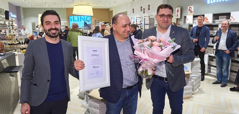 Новый магазин Tamaris в Москве