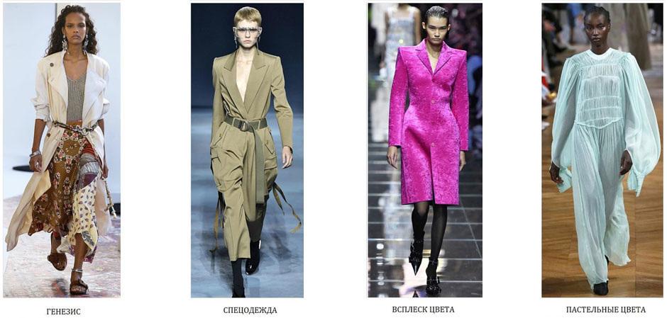 О цветах, материалах, графике, декоре и ключевых видах ассортимента в  женской одежде на примере недавно завершившихся показов ключевых мировых  недель моды ... ba62c427ab1