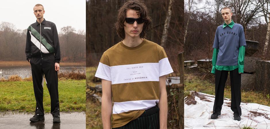 новая коллекция Geek от датского бренда NOSOMNIA
