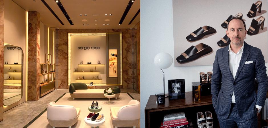 В торговом центре Лос-Анджелеса откроется магазин бренда Sergio Rossi формата pop up