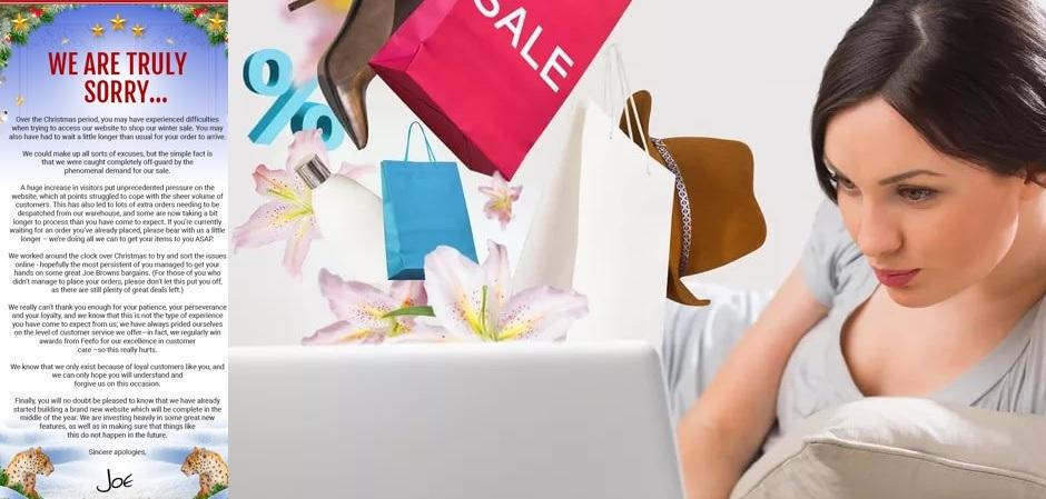 покупатели стали получать письма с извинениями за онлайн-очереди и обещаниями сделать более мощными сайты
