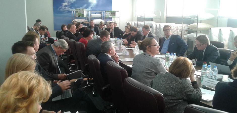 Заседание Союзлегпрома
