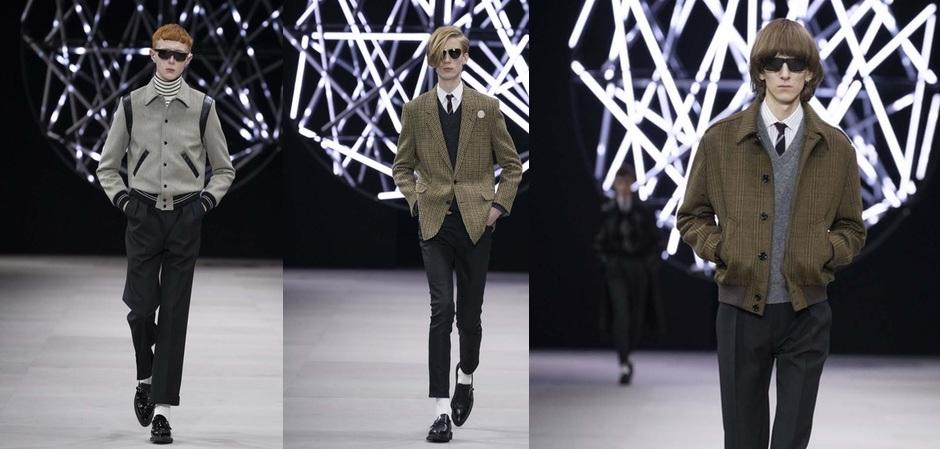 Céline представляет мужскую моду как изысканный парафраз классики
