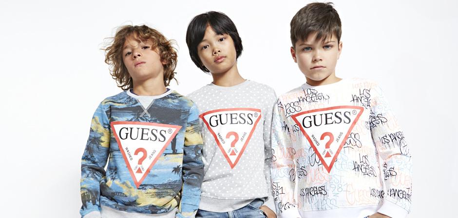 Новая капсула от Guess Kids – Sundae